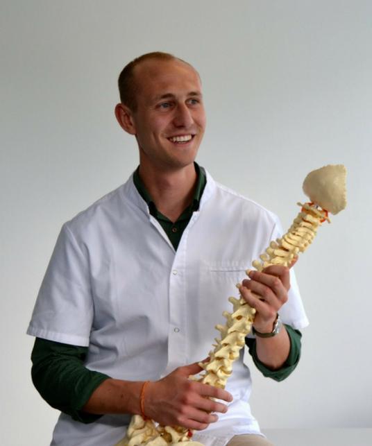 Louis Trehiou, Chiropracteur diplômé de l'IFEC
